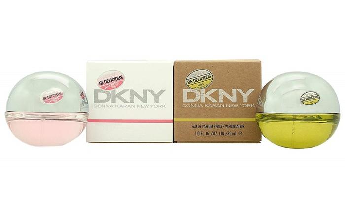 sports shoes 64baf ee54d DKNY Be Delicious 30ml and Fresh Blossom 30ml Eau de Parfum Sprays