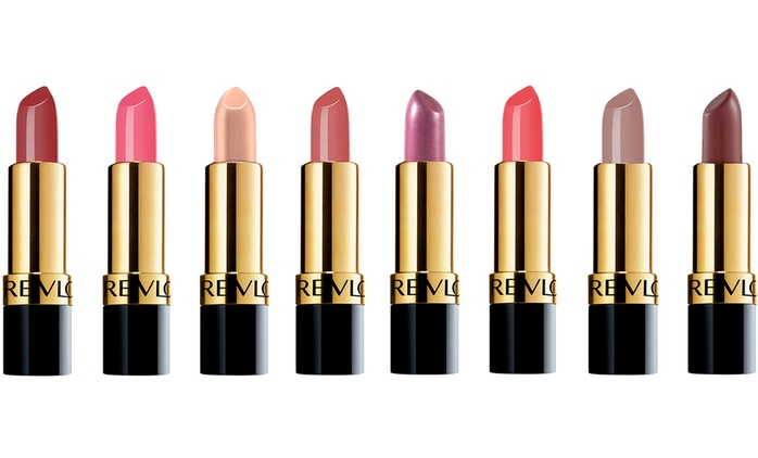 Four (€10.98) or Eight (€19.99) Revlon Super Lustrous Lipsticks (Up to 78% Off)