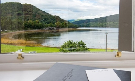 Argyll and Bute: 1 to 3 Nights for Two with Breakfast and Dinner at The Inveraray Inn