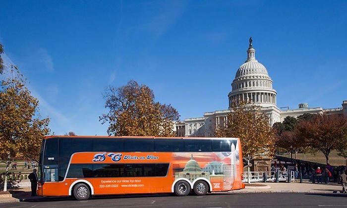 Washington Dc Tour Bus >> Dc Trails Up To 43 Off Washington Dc Groupon