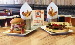 Summit House Grill and Tap: $12 for $20 Worth of Gourmet American Cuisine and Drinks for Two or More at Summit House Grill and Tap