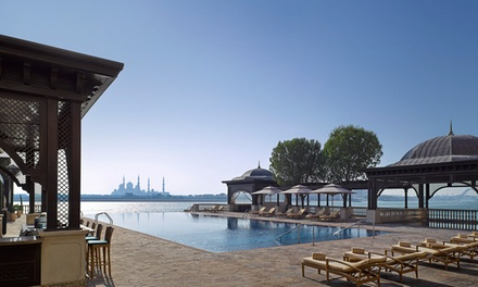 Pool and Beach Access with AED 100 to Spend on Food and Drinks at Pool Bar – Shangri La Abu Dhabi