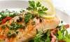 North Beach Bistro - Atlantic Beach: Seafood, Steak, and Drinks at North Beach Bistro (Up to 53% Off). Two Options Available.