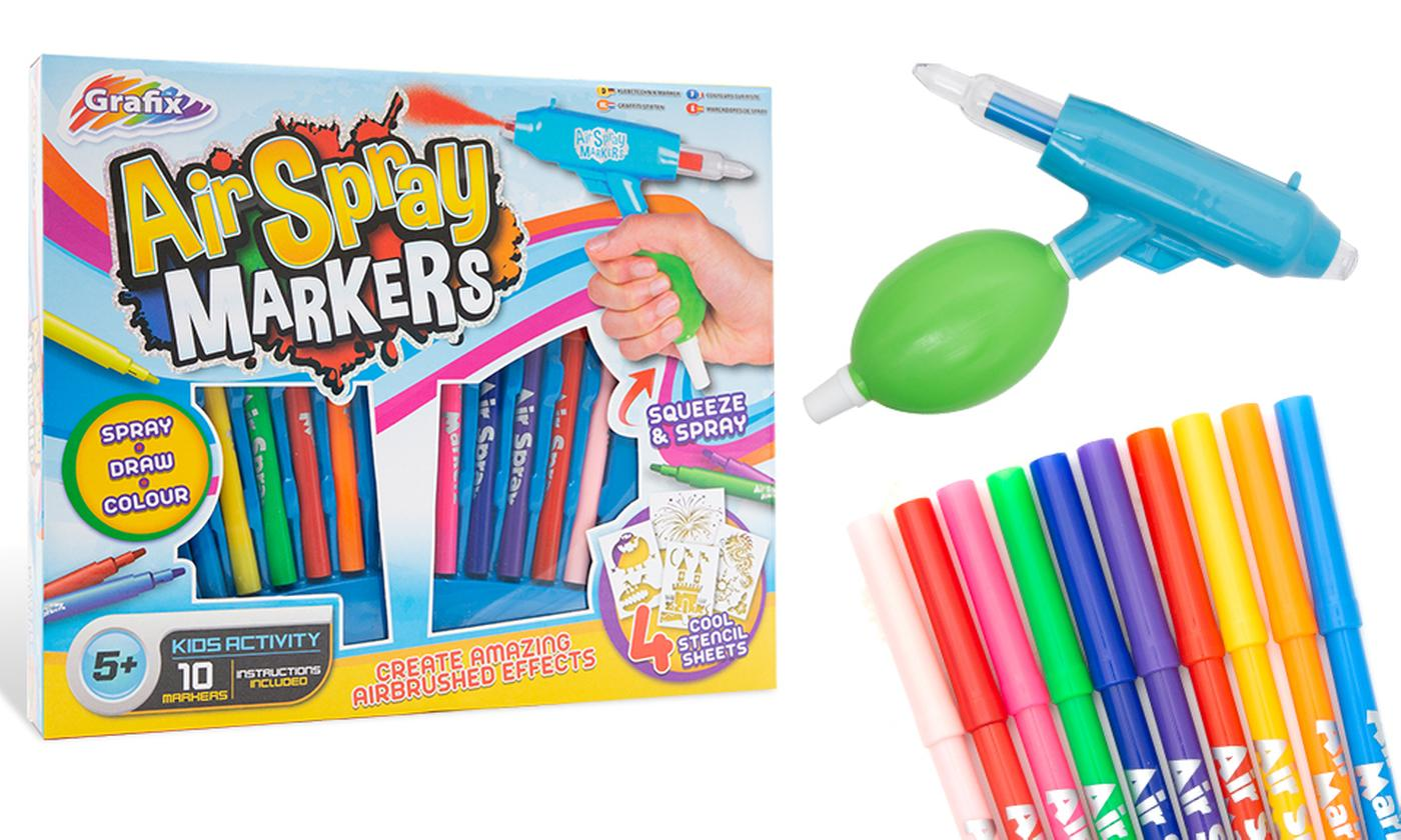 One or Two Sets of RMS Grafix Air Spray Markers