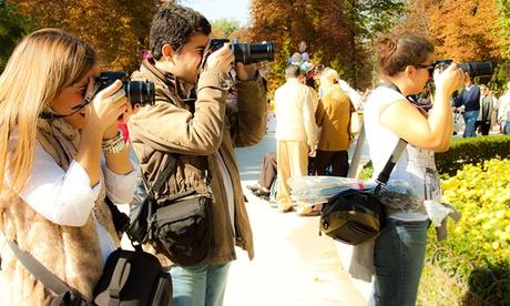Curso intensivo de fotografía en el Retiro por 24,90 €