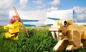"""Paläon: 2 Tickets oder 1 Familienticket für """"Die große LEGO-Zeitreise"""" im Paläon (bis zu 54% sparen*)"""