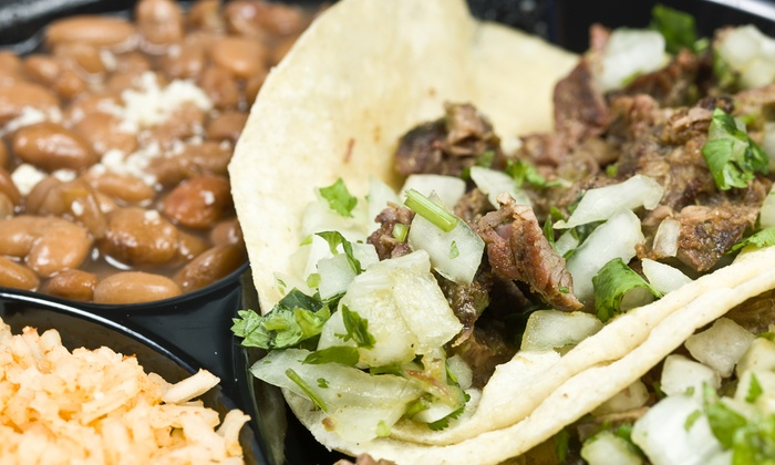 Guapo's Tacos y Cervezas - Cary: Mexican-Latin Fusion Cuisine at Guapo's Tacos Arepas y Cervezas (40% Off). Two Options Available.