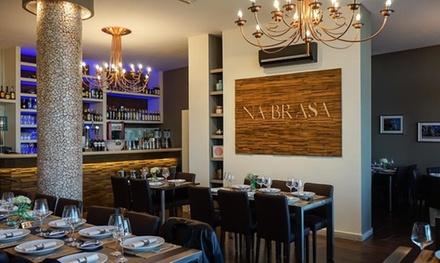 Menú de rodizio brasileño para 2 o 4 personas con principal y guarniciones en Na Brasa (hasta 63% de descuento)