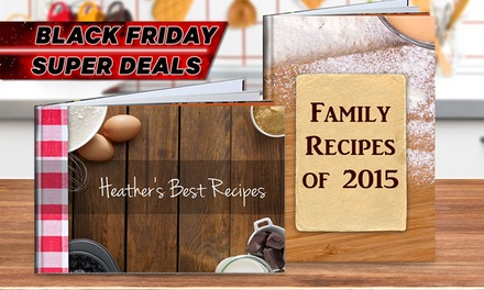 From $1 for a Personalised Recipe Book (Don't Pay up to $89.95)