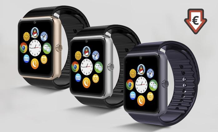 Montre connectée SmartWatch Elégancia compatible tous smartphones Android et iPhone à 29,99€ (80% de réduction)