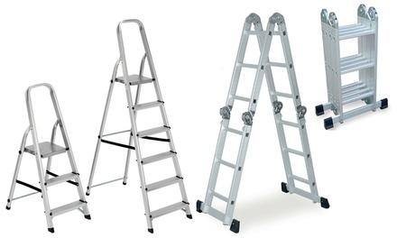 Scala alluminio fino a 8 gradini