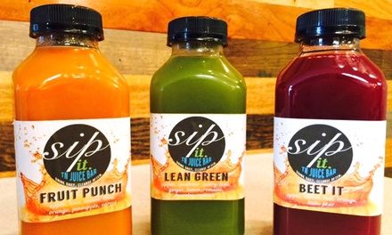 Three-Day Refine Juice Cleanse for One or Two from TN Juice Bar ( 54% Off )