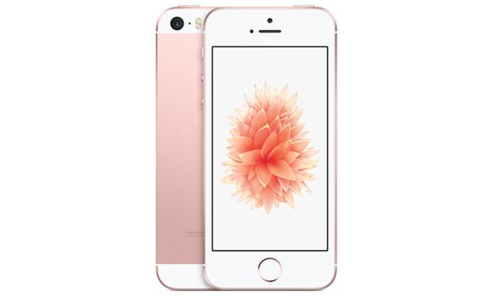 apple iphone se 16 go 64 go groupon. Black Bedroom Furniture Sets. Home Design Ideas