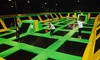 Max Air Trampoline Park - 6: One-Hour Open Air Pass for Two or Four at Max Air Trampoline Park (Up to 46% Off)