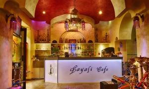 Layali Cafè: Degustazione libanese con drink e narghilè per 2 o 4 persone al Cafè Layali, zona Corso Buenos Aires (sconto fino a 59%)