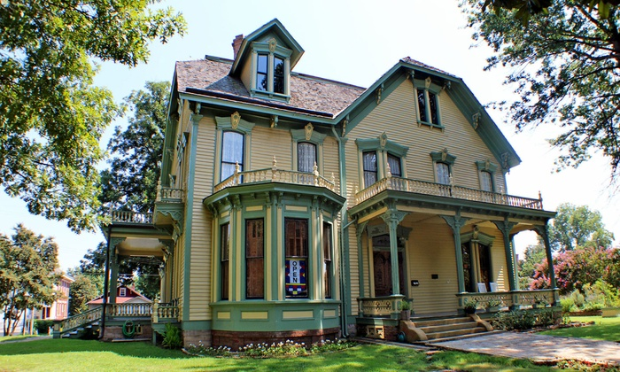 Clayton House - Fort Smith: Guided Museum Tour for Two or Four or Afternoon Tea Party and Tour for Up to 15 at Clayton House (Up to 50% Off)