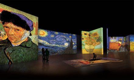 Van Gogh Alive Exhibition at Dubai Design District
