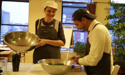 image for Intro to Vegetarian <strong>Cooking</strong> Class for One or Two at Bhagavat Life (Up to 60% Off)
