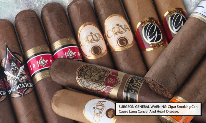 Famous Smoke Shop Cigar Samplers: 12- or 14-Cigar Sampler from Famous Smoke Shop (64% Off). Free Shipping.