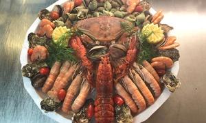Restaurant Teppanyaki : Plateaux de fruit de mer M ou L ou un grand plateaux dès 49,90 € au restaurant Teppanyaki