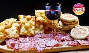 Sorbole!: Menu Tigelle e Gnocco fritto illimitati con tagliere misto,vino e dolce per 2 o 4 persone da Sorbole (sconto fino a 65%)