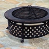 Outsunny Outdoor Metal Fire Pit