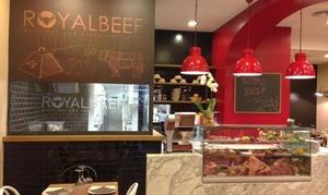 Royalbeef: Menu Gran grigliata o 1kg di costata con dolce e vino a Ostia per 2 persone da Royalbeef (sconto fino a 68%)