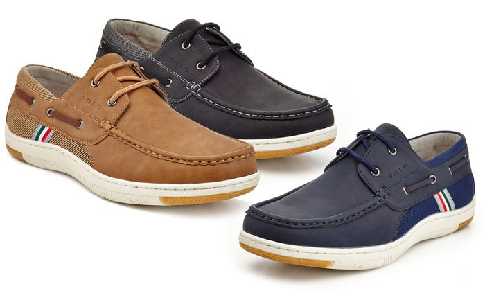 4d62dec61cf5 Up To 75% Off on Men's Suede Lace Boat Shoes | Groupon Goods