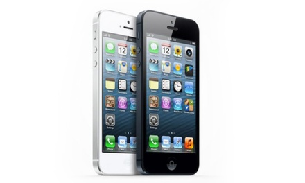 Refurbished iPhone 5 16GB, 32GB or 64GB from £149.99 With Free Delivery