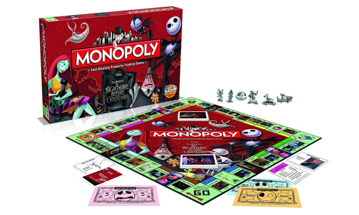 Monopoly Nightmare Before Christmas | Groupon