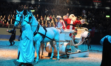 The London International Horse Show on 13, 15 and 16 December at Olympia