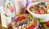Up to $12 Cash Back at Shaka Healthy Eatery
