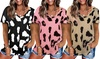 Women's Leopard Loose T-Shirt