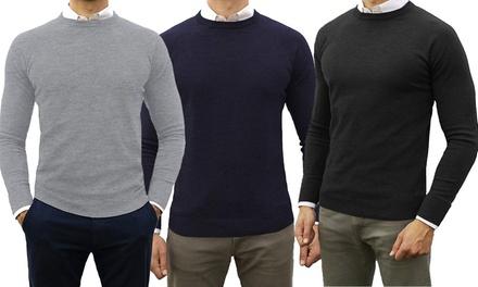 Maglione misto cashmere e lana