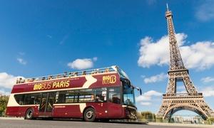 Tickets Big Bus Tours Paris Paris
