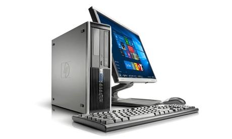 Ordenador HP Dc7800/7900 con capacidad de 160Gb reacondicionado con opción a monitor de hasta 22' (envío gratuito)