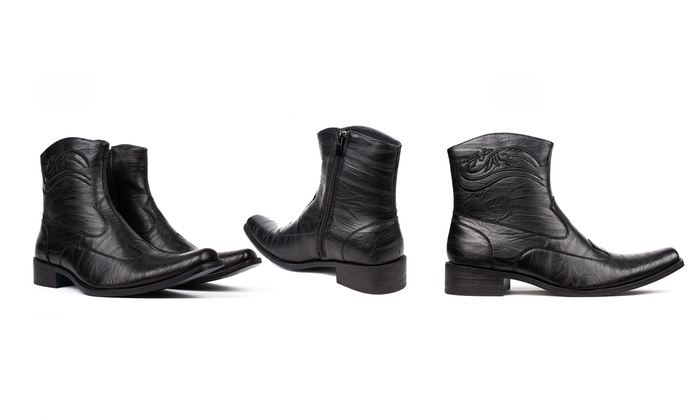 Bonafini Men's Classic Dress Boots (Sizes 8 & 10.5)