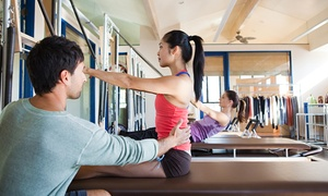 Breathe Pilates Place: Three or Five Private Pilates Equipment Sessions Breathe Pilates Place (Up to 52% Off)