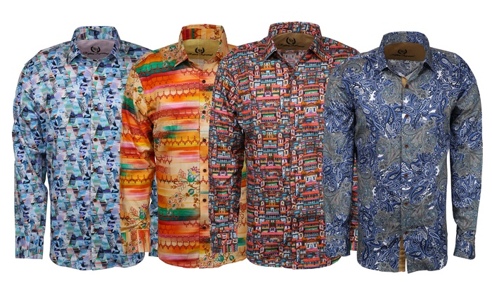 Mens Patterned Shirts