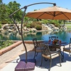 9' Cantilever, Wood, or Fiber Patio Umbrellas