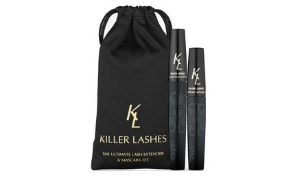 Fino a 3 kit per ciglia Beverly Hills Killer Lashes con mascara ed estensore