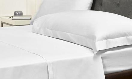Pieridae 180TC Non-Iron Flat Sheet or a Pair of Pillowcases