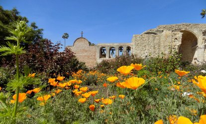 image for Visit for Two or Four Adults to Mission San Juan Capistrano (61% Off)