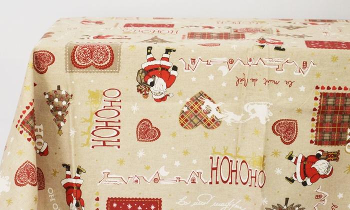 Tovaglie, strisce e centri natalizi