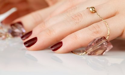 image for One or Two Gel Manicures with Optional Regular <strong>Pedicure</strong> at My Little Nail Salon (Up to 30% Off)