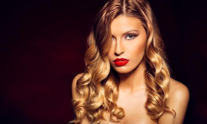 Hair By Morganne - Downtown: Haircut, Highlights, and Style from Hair By Morganne (57% Off)