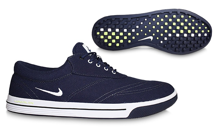new arrival c0dc0 8635b Nike Men s Spikeless Golf Shoes   Groupon Goods