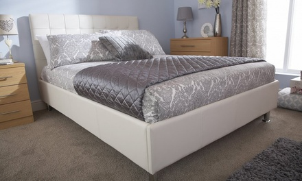 Naples Bed With Mattress
