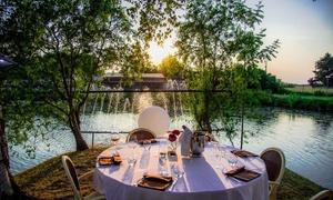 Ristorante Lago Reale: Menu pesce alla carta con una o 2 bottiglie di vino per 2 o 4 persone al ristorante Lago Reale (sconto fino a 64%)