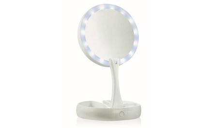 Miroir lumineux à LED double face Cenocco CC 9050